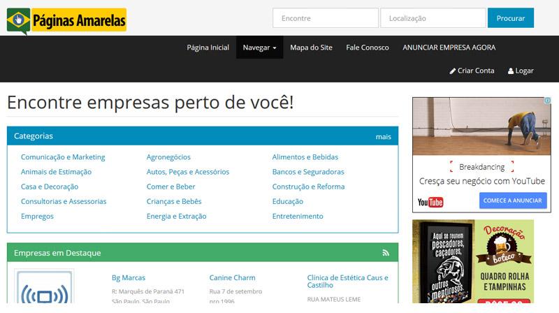 paginas-amarelas Como conquistar clientes locais usando o SEO local