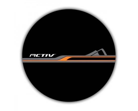 Capa de Estepe Chevrolet Spin Activ - CS-70 (Alfabetoauto) por alfabetoauto.com.br