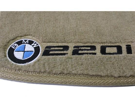 Tapete BMW 220i Luxo (Alfabetoauto) por alfabetoauto.com.br