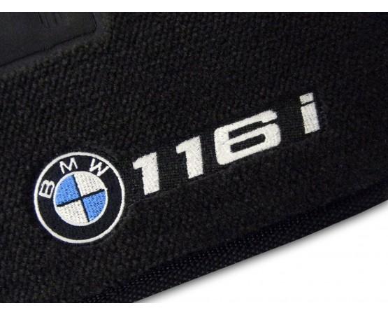 Tapete BMW 116i Preto Luxo (Alfabetoauto) por alfabetoauto.com.br