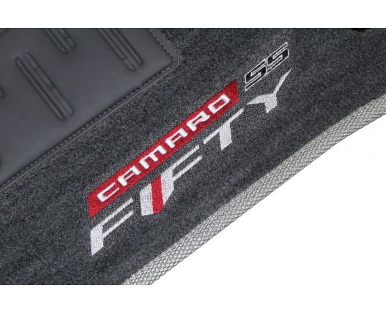 Tapete Chevrolet Camaro SS Fifty 50 Anos Grafite Luxo (Alfabetoauto) por alfabetoauto.com.br