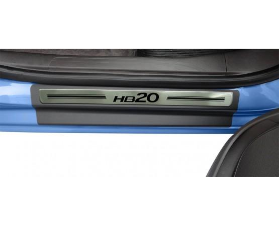 Soleira Premium Aço Escovado 4P Hb20 (NP Adesivos e Resinagem) por alfabetoauto.com.br