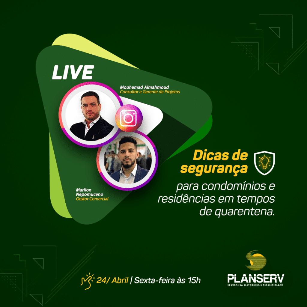 Live dicas de Segurança - Planserv