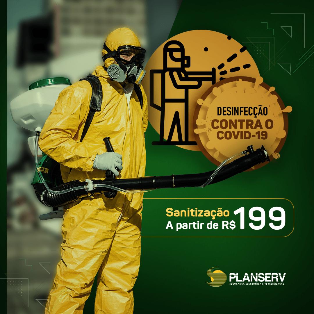 Sanitização - Planserv