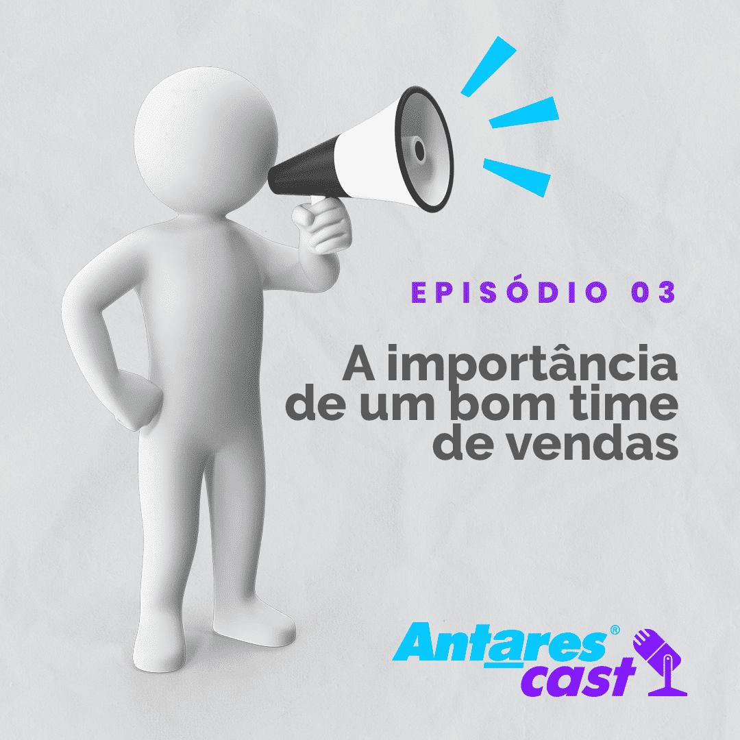 No Antarescast, o podcast da Antares, Caio Vidal fala sobre time de vendas