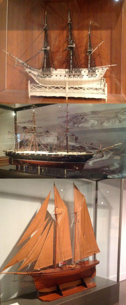 Voyager Maritime Museum REPLICAS