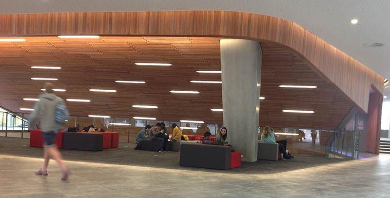 universidade aut auckland interiores