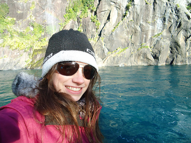 Milford Sound nova zelandia agua azul