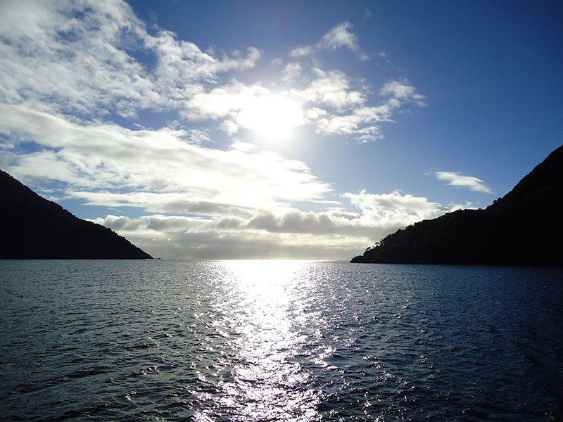 Milford Sound nova zelandia passeio de carro mar da tasmania
