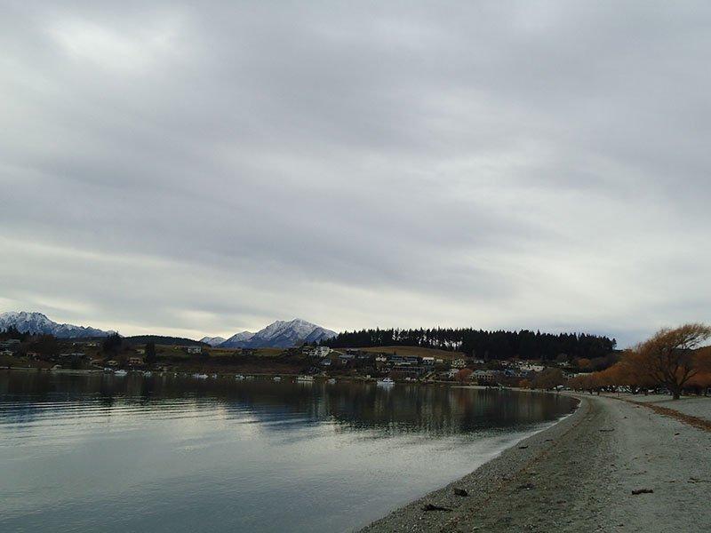 Rota Wanaka Lake Pukaki lago cidade