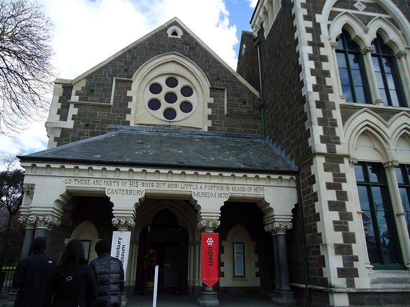 o que visitar em christchurch canterbury museum