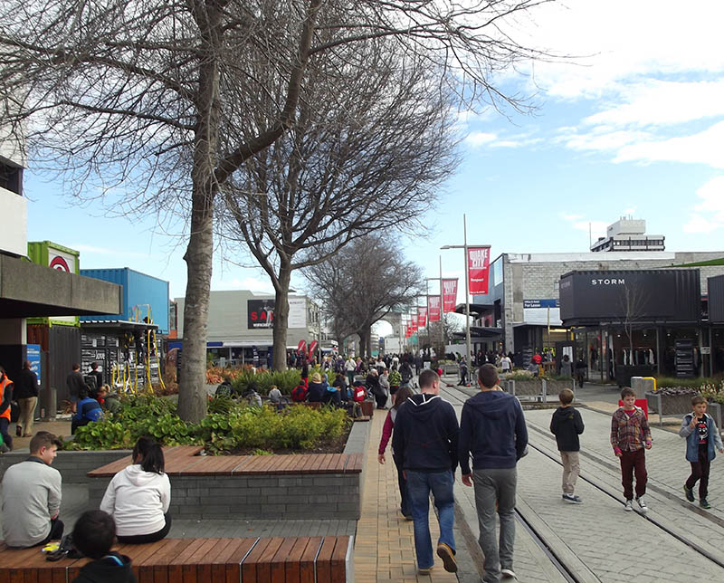 shopping em christchurch nova zelandia