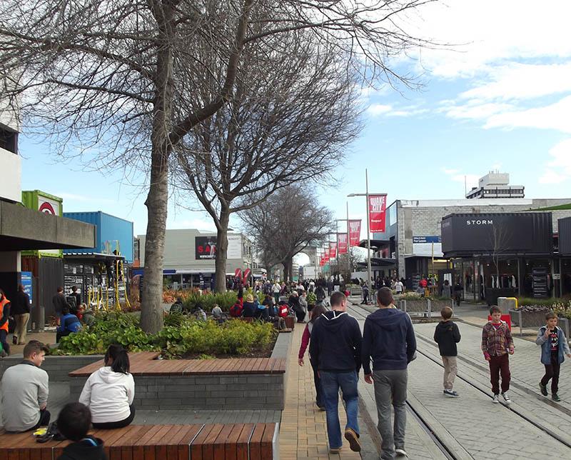 shopping em christchurch nova zelandia