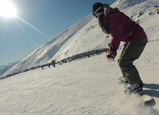 snowboard na nova zelandia
