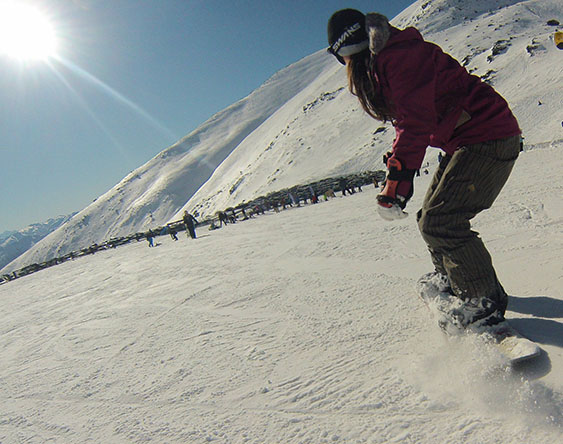 snowboard remarkables