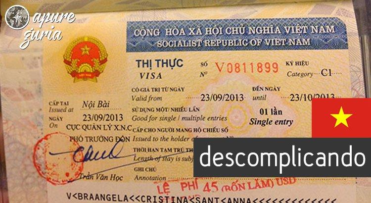 Como tirar o visto para o Vietnam