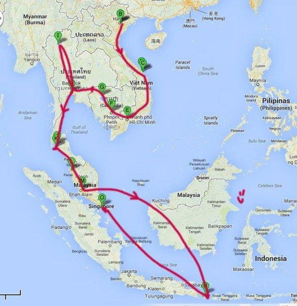 Roteiro-Mochilão-Ásia-50-dias-sudeste-asiático