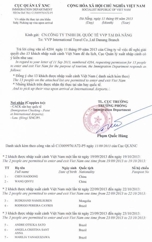 como tirar o visto do vietnam carta recomedanção passo a passo 2
