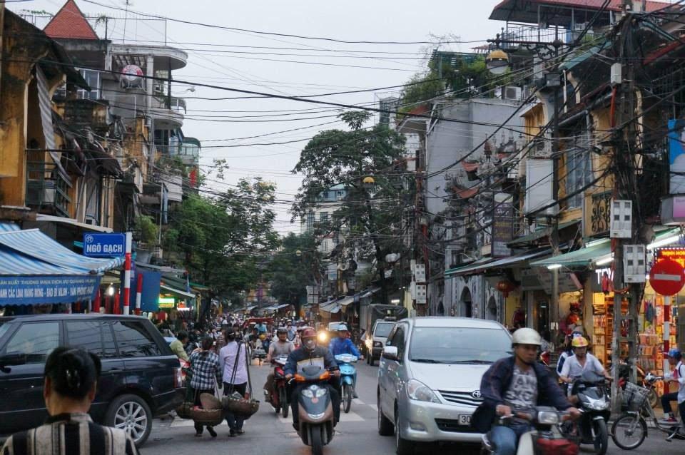 Do aeroporto de Hanoi até o centro da cidade