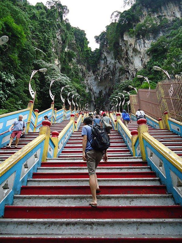 Atrações em Kuala Lumpur batu caves apure guria 3