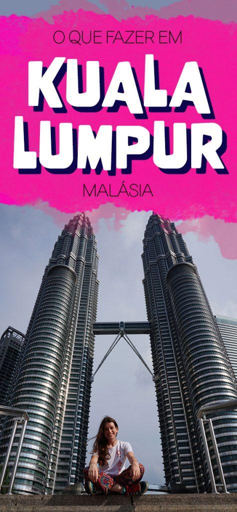 Roteiro em Kuala Lumpur Malasia
