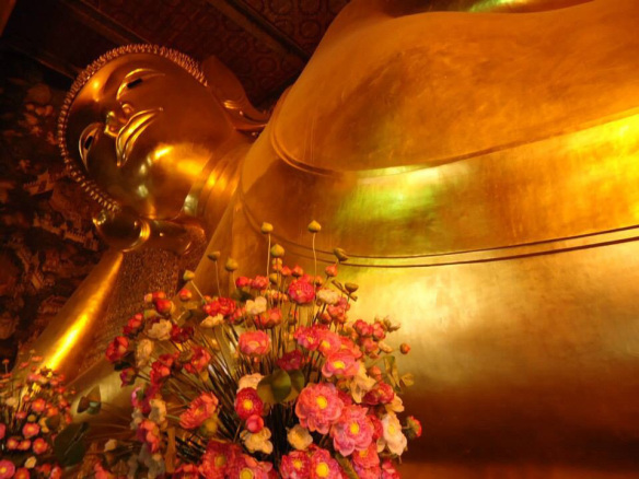 Templos em Bangkok wat pho