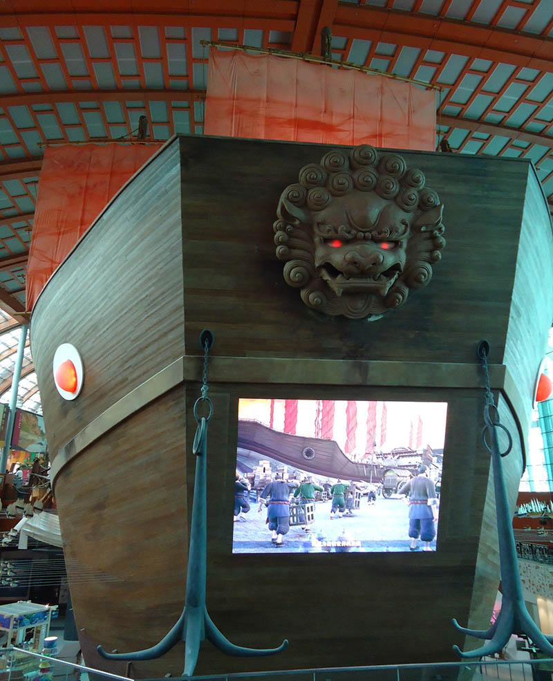 navio oceanario de cingapura