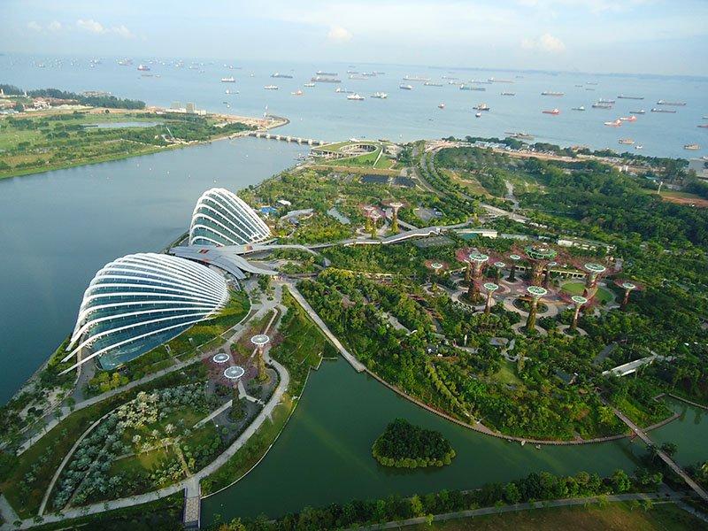 o que visitar cingapura marina bay sands