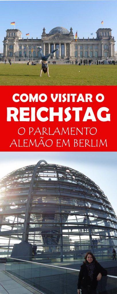 Dicas para visitar o Reichstag, um dos prédios mais icônicos da Alemanha em Berlim! Visita guiada e a cupula