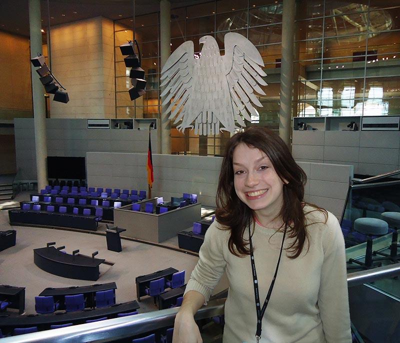 camara do parlamento alemao bundestag berlim