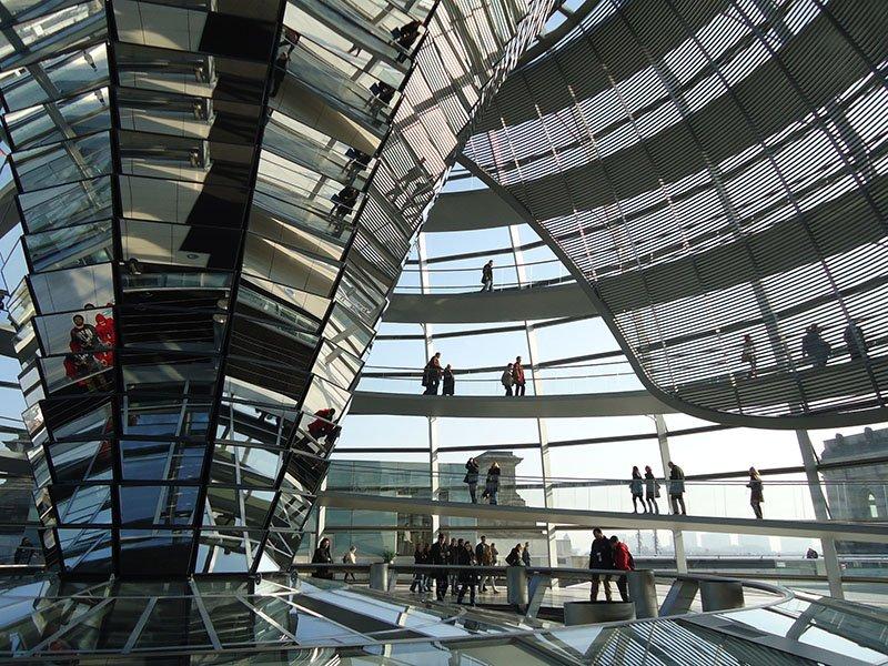 como-subir-cupula-parlamento-alemão