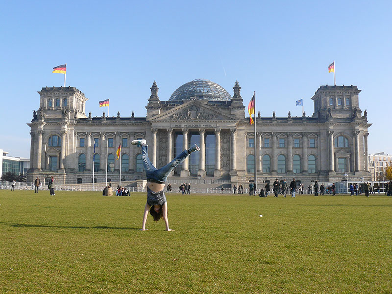 como subir no reichstag parlamento alemao berlim