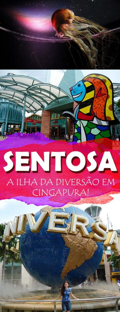 Ilha Sentosa em Cingapura, diversão em todo lugar! Universal Studios, Hard Rock, Luge, praias, confira