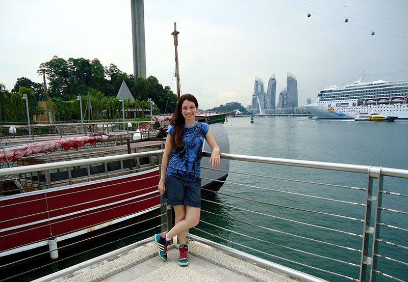 como chegar na ilha sentosa em singapura
