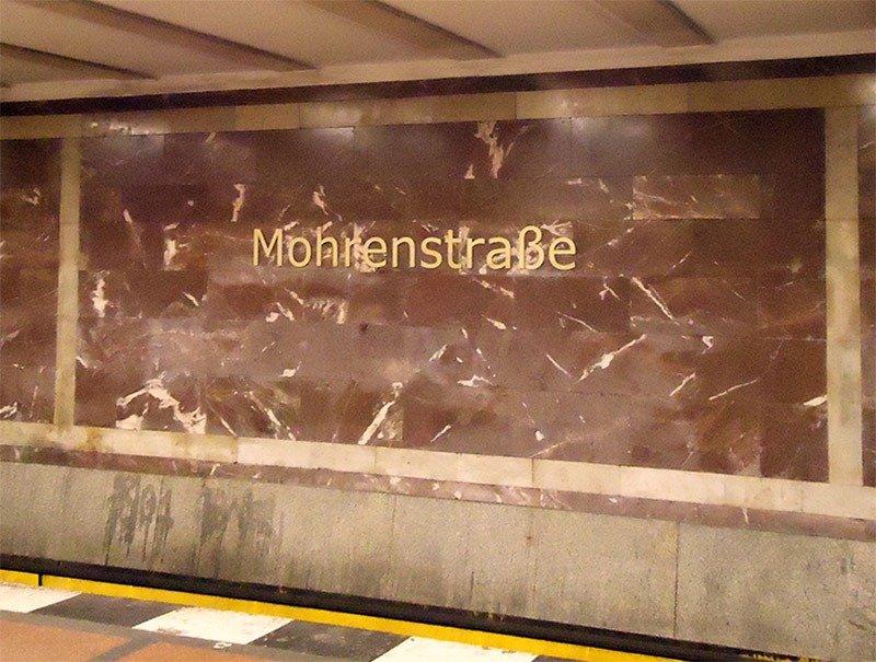 metro em berlim hitler