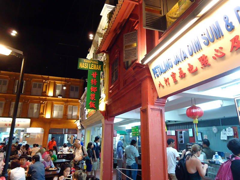 restaurantes em sentosa island singapura