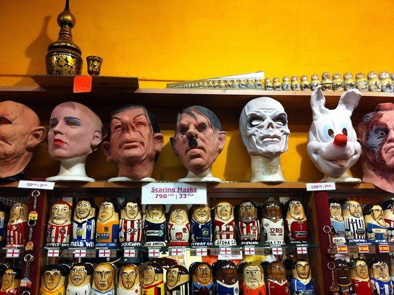 centro de praga mascaras