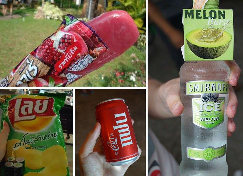 o que comer no sudeste asiatico coca chips
