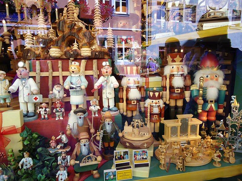 brinquedo alemão artesanal alemanha Weihnachtsdorf Käthe Wohlfahrt