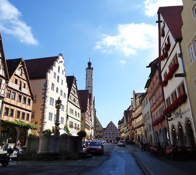 centro histórico rothenburg ob der tauber]