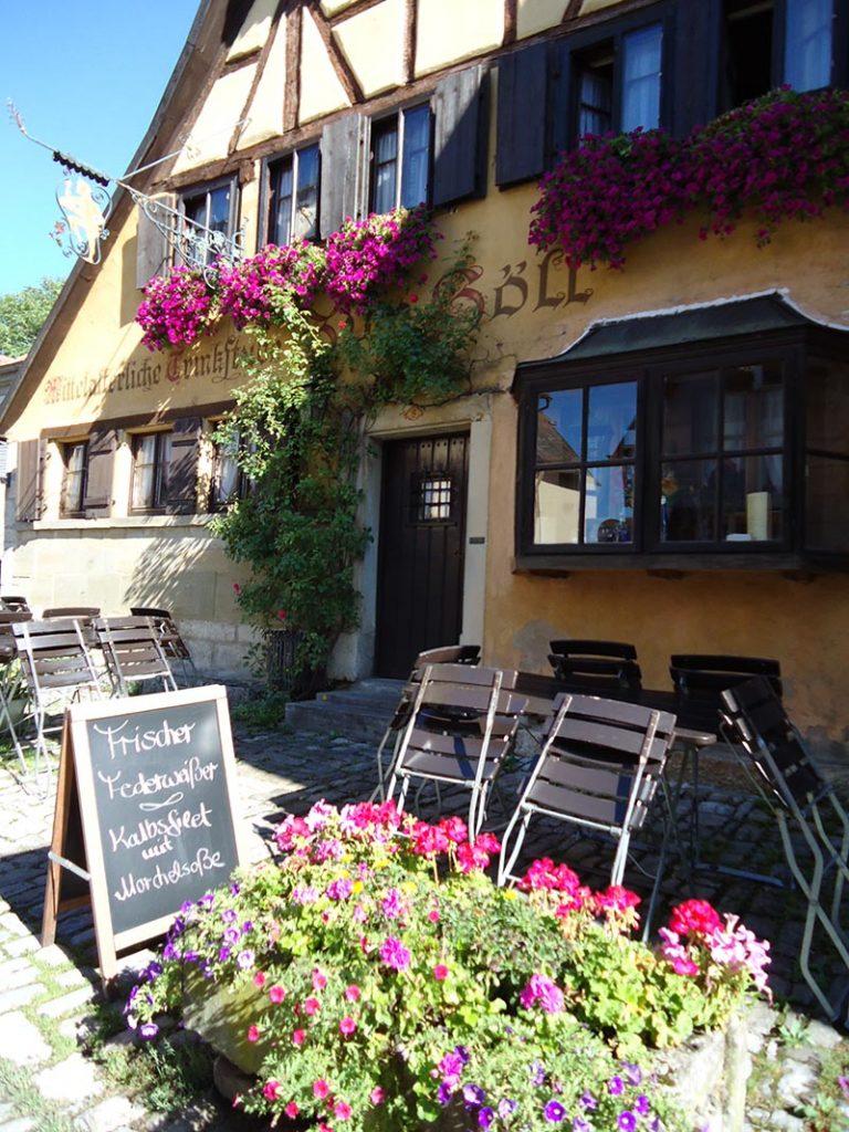 rothenburg ob der tauber restaurante flores