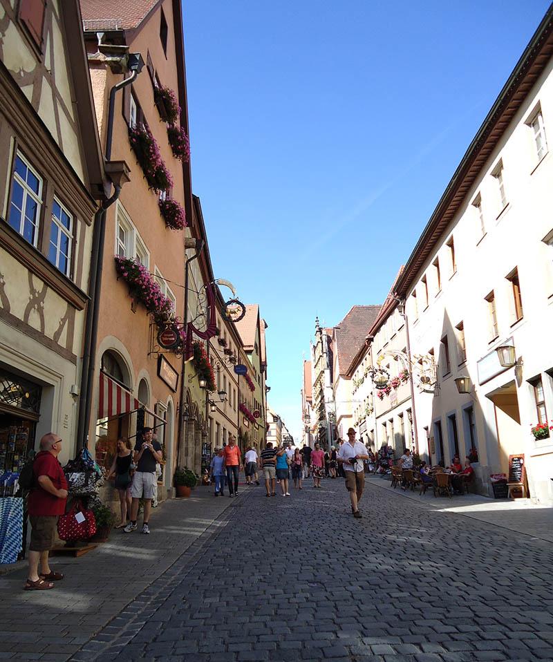 rothenburg ob der tauber rua