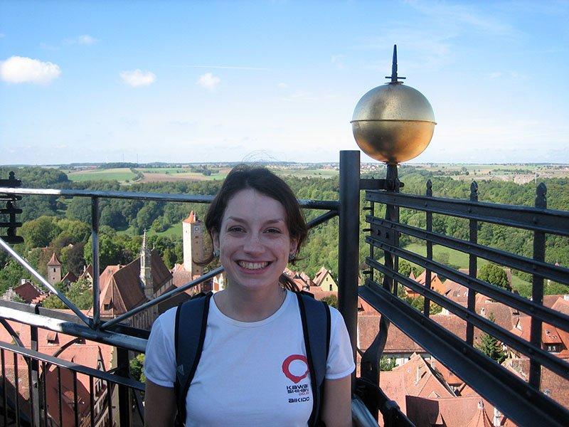 vista da igreja rothenburg ob der tauber