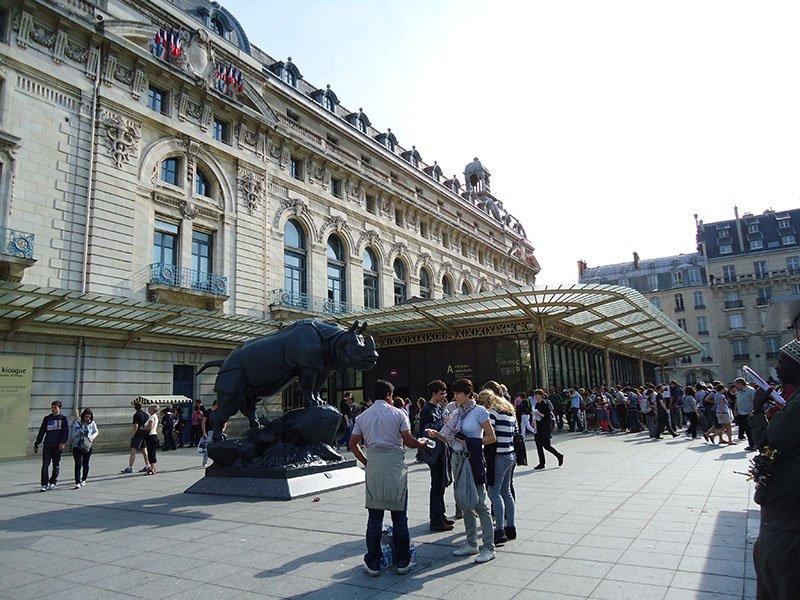 Musée d'Orsay entrada paris-museu-impressionismo