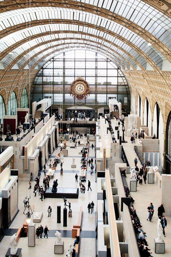 Musée d'Orsay -paris-museu-impressionismo-relogio