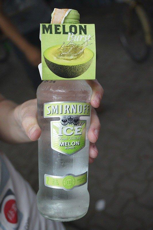 smirnoff ice melon asia