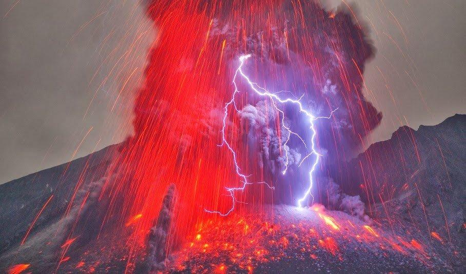 02 20 fenômenos espetaculares da natureza que você não vai acreditar que existem volcanic lightingin