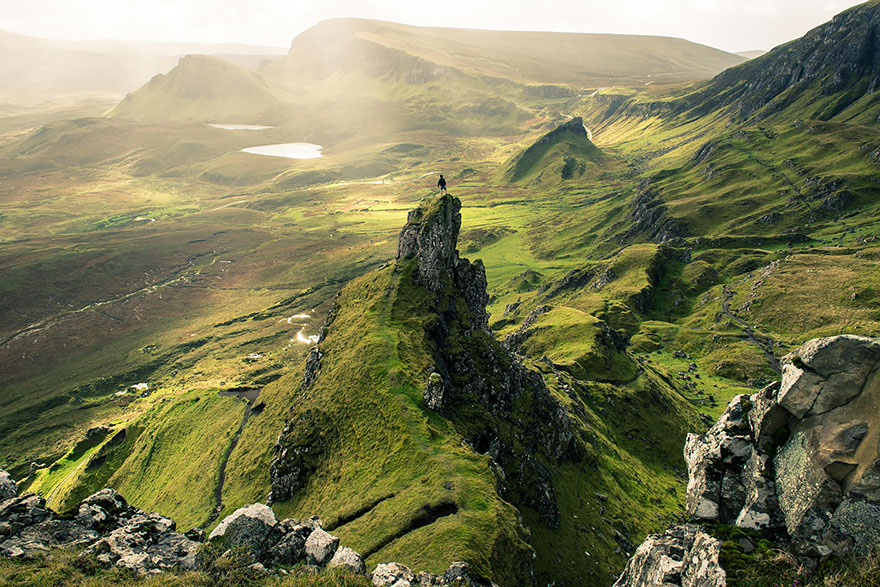 11 lugares que te fazem se sentir insignificante 11Quiraing landslip, Skye, Escócia