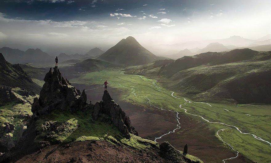 11 lugares que te fazem se sentir insignificante islandia