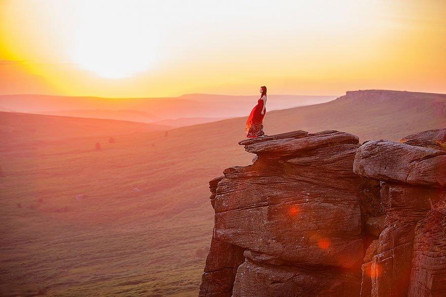 11 lugares que te fazem se sentir insignificante10 Peak District, Inglaterra